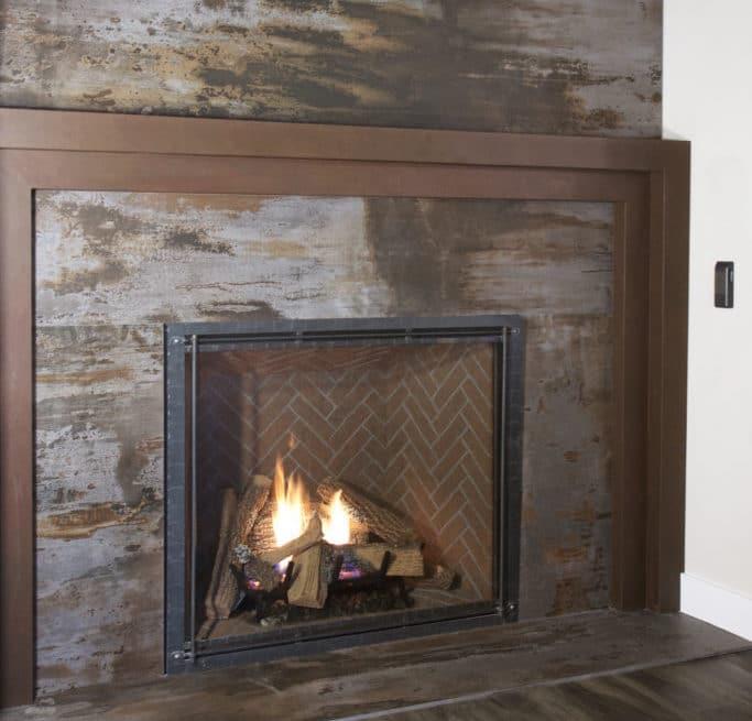 wood fireplace dekton showroom decatur miramar beach